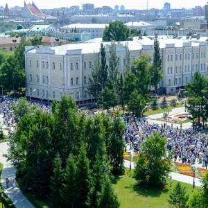 180729 046 Крестный ход Собор Успения Омск митр. Владимир (Иким) 2061
