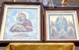 Омские верующие почтили память Почаевской иконы Божией Матери