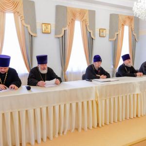 180904 005 Собрание Духовенства Семинария Омск митр. Владимир (Иким) P1199159