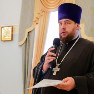 180904 008 Собрание Духовенства Семинария Омск митр. Владимир (Иким) P1199194