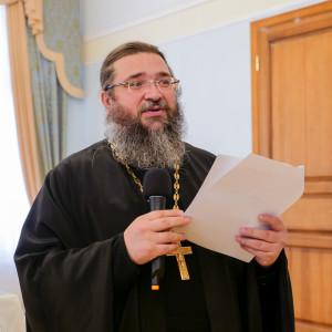 180904 026 Собрание Духовенства Семинария Омск митр. Владимир (Иким) P1199403