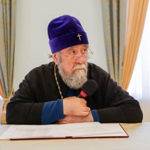 180904 028 Собрание Духовенства Семинария Омск митр. Владимир (Иким) P1199421