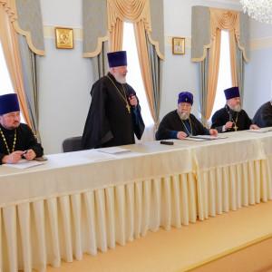 180904 029 Собрание Духовенства Семинария Омск митр. Владимир (Иким) P1199427