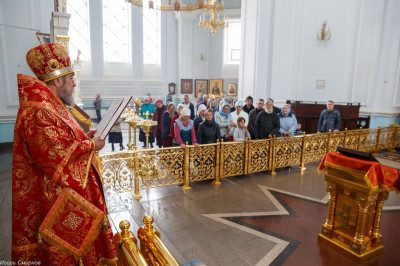 180911 027 Креститель Иоанн Предтечи Собор Успения Омск митр. Владимир (Иким) IMG_2443