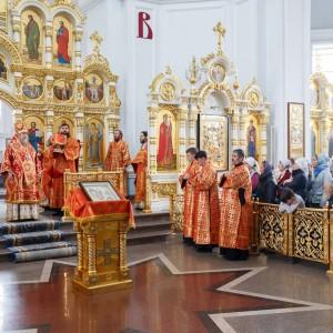 180911 032 Креститель Иоанн Предтечи Собор Успения Омск митр. Владимир (Иким) IMG_2456