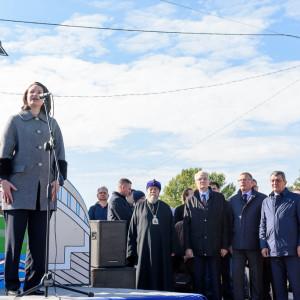 181003 252 Открытие Юбилейного моста Омск митр. Владимир (Иким) SIB_1766