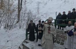Праздничный крестный ход в Большекулаченском мужском монастыре