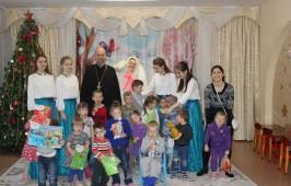 Рождественский праздник в детском доме №3