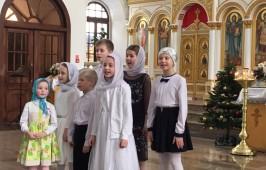 Детский праздник «Радость Рождества Христова» в Воскресенском военном соборе