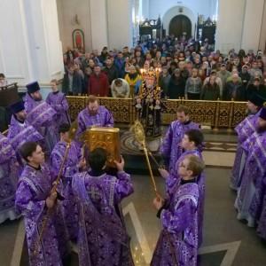 2019.04.14 Божественная литургия. Неделя 5-я по Пятидесятнице 19