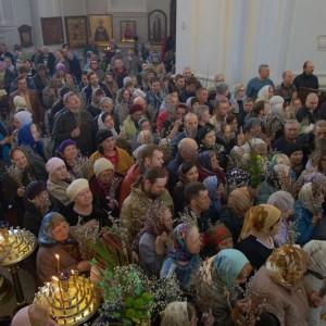 2019.04.21 Божественная литургия. Неделя 6-я ваий. Вербное воскресенье 10