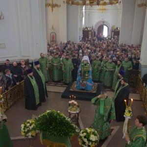 2019.04.21 Божественная литургия. Неделя 6-я ваий. Вербное воскресенье 2