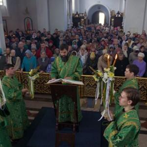 2019.04.21 Божественная литургия. Неделя 6-я ваий. Вербное воскресенье 22