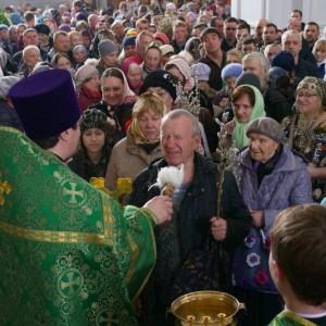 2019.04.21 Божественная литургия. Неделя 6-я ваий. Вербное воскресенье 37