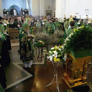 2019.04.21 Божественная литургия. Неделя 6-я ваий. Вербное воскресенье 7