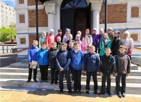 Ученики гимназии № 43 посетили Казанский собор