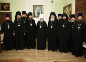 Состоялось очередное заседание архиереев епархий Омской митрополии