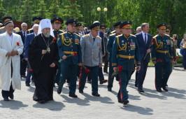 Митрополит Владимир принял участие в церемонии открытия самого большого вододрома России