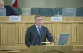 Митрополит Владимир принял участие в заседании Законодательного собрания Омской области