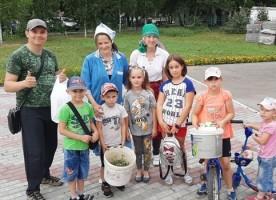 Летние мероприятия для маленьких прихожан храма святителя Василия Великого города Омска