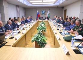 В городе Томске прошло заседание окружной комиссии Совета при Президенте Российской Федерации по делам казачества в Сибирском федеральном округе