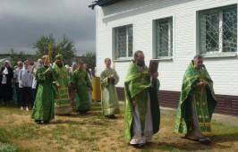 Престольный праздник в день Пророка Илии в селе Красноярка