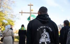 Омские верующие помолились за восстановление Свято-Ильинского собора