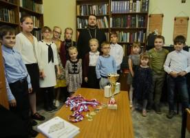 Шахматный турнир в соборе Воздвижения Креста Господня