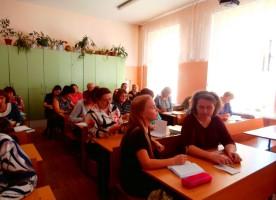 Состоялась встреча педагогического коллектива со специалистом отдела религиозного образования и катехизации Омской епархии
