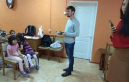 """Миссионерско-благотворительная акция в """"Центре социальной помощи семье и детям»"""