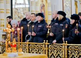 В Омской епархии почтили память жертв ДТП