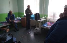 Сотрудники миссионерского отдела Омской епархии посетили «Центр социальной адаптации»