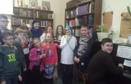 Воспитанники воскресной школы собора Воздвижения Креста Господня г. Омска провели игру-путешествие