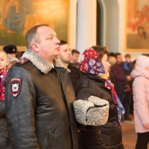 2020.01.09 Литургия в соборе Казанской иконы БМ-9309