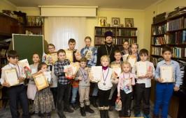 Детский шахматный турнир состоялся при соборе Воздвижения Креста Господня