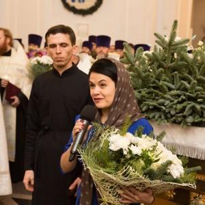 2020.01.09 вечерняя с поздравлениями в Успенском соборе-27