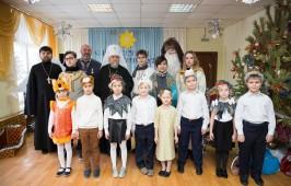 Митрополит Владимир посетил Славянскую школу имени святых равноапостольных Кирилла и Мефодия