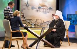 25 февраля в 17.20 состоится прямой эфир с митрополитом Владимиром