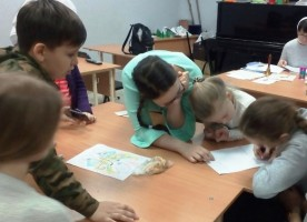 Викторина ко Дню православной книги в воскресной школе Успенского собора