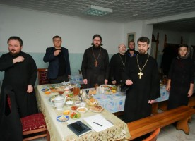 Состоялось братское совещание настоятелей приходов Южного благочиния
