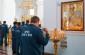 Молитвы о здравии и упокоении своих коллег вознесли сотрудники и ветераны Главного управления МЧС России по Омской области