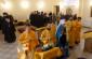 Первый престольный праздник храма Омской духовной семинарии