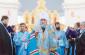 В Омске в праздник Покрова Пресвятой Богородицы состоялись архиерейское богослужение в Успенском кафедральном соборе и Большой отчетно-выборный круг Сибирского казачьего войска, посвященный 435-летию присоединения Сибири