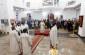 Митрополит Владимир поздравил с Рождеством Христовым прихожан Воскресенского собора