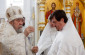 В праздник Вознесения Господня митрополит Владимир совершил Литургию в главном храме города Омска