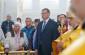 В день выборов Александр Бурков молился в Успенском кафедральном соборе