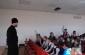 Встреча ребят СОШ № 113 города Омска и клирика Кафедрального собора Воздвижения Креста Господня