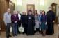 Митрополит Владимир встретил делегацию из Италии