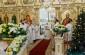В праздник Рождества Христова митрополит Владимир совершил ночную Божественную литургию в Рождественском соборе