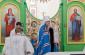 Митрополит Владимир совершил Божественную литургию в храме святителя Василия Великого